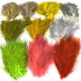 Hareline Fine Black Barred Marabou