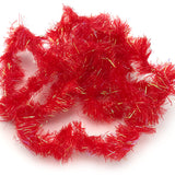 Hareline Frizzle Chenille - Red