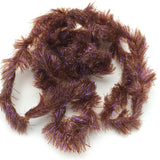 Hareline Frizzle Chenille - UV Brown