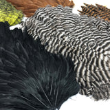 Hareline Hen Saddle Hackle Feathers
