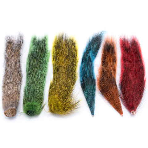 Hareline Squirrel Tail Combo Pack