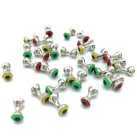 Hareline Tungsten Predator Eyes - Fly Tying Dumbbell Beads
