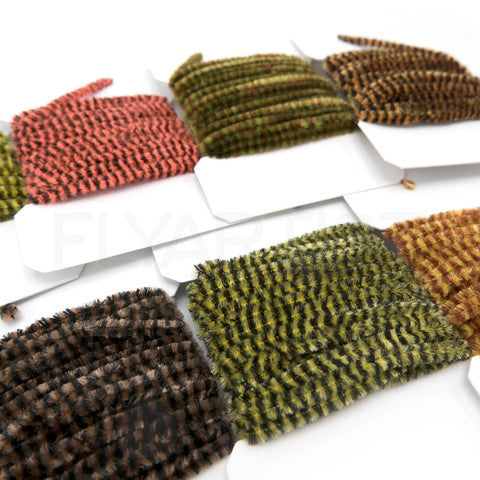 Hareline Variegated Chenille for Fly Tying