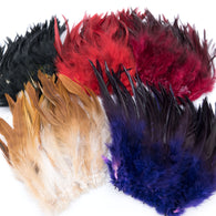 Hareline Wooly Bugger Saddle Hackle - Fly Tying Feathers