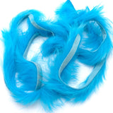 Magnum Zonker Rabbit Strips - Fluorescent Blue