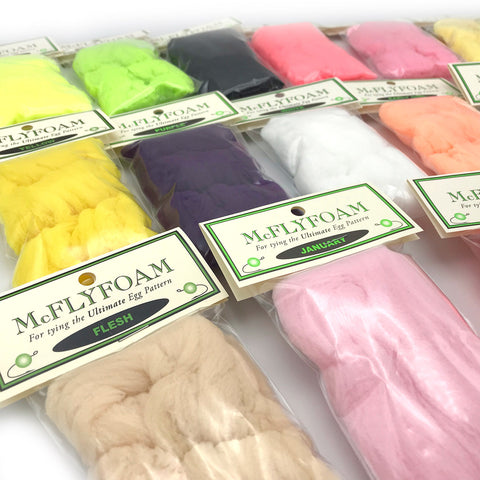 McFly Foam - Egg Yarn Fly Tying Material