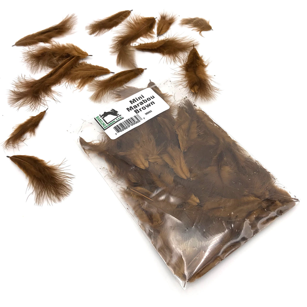 Mini Marabou Hareline Chickabou Fly Tying Feathers Fly