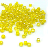 Tyers Glass Beads - Iridescent Caddis Yellow