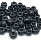 Tyers Glass Beads - Opalescent Black