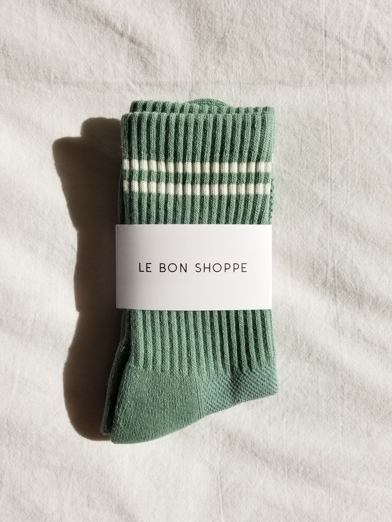 Boyfriend socks - meadow