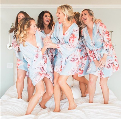 Bride and Bridesmaid Robes