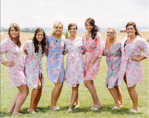 The Paisley Box Bridesmaid Robes