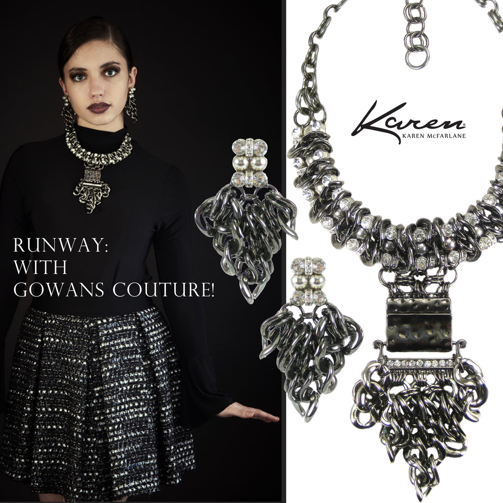 Runway: With Gowans Couture!