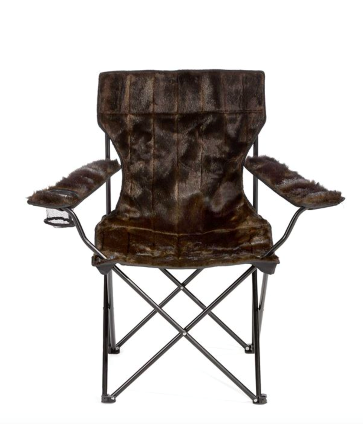 Sable Faux Fur Spectator Chair