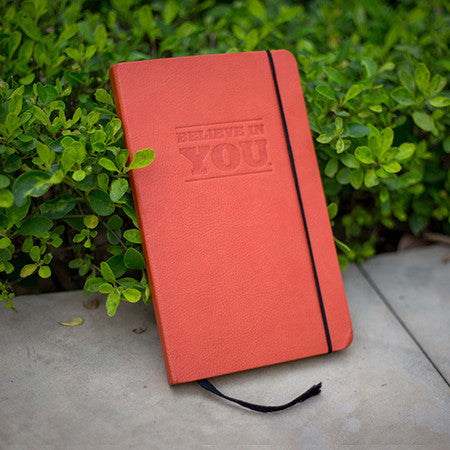 Believe In YOU! Handmade Leather Journal