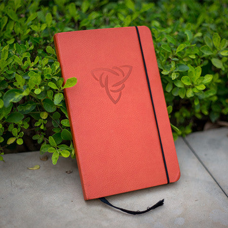 Celtic Knot Handmade Leather Journal