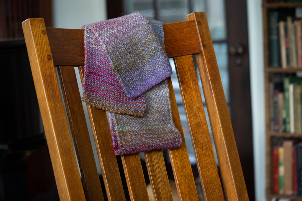 Knit a Cozy and Colorful Scarf