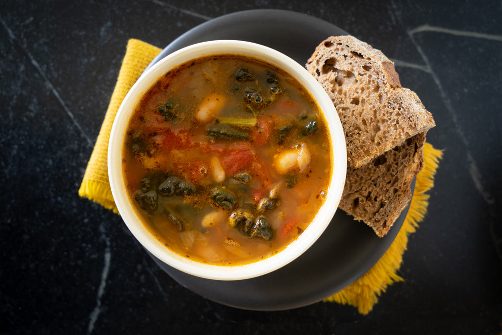 Tuscan Kale & Cannellini Bean Soup