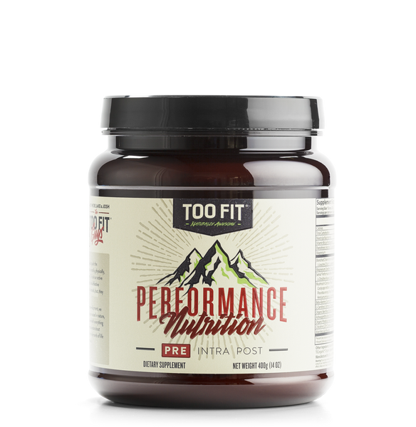 Too Fit Pre Bottle | Natural Pre Workout