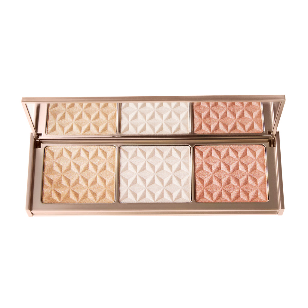 Rose Gold Bar Highlighting Palette