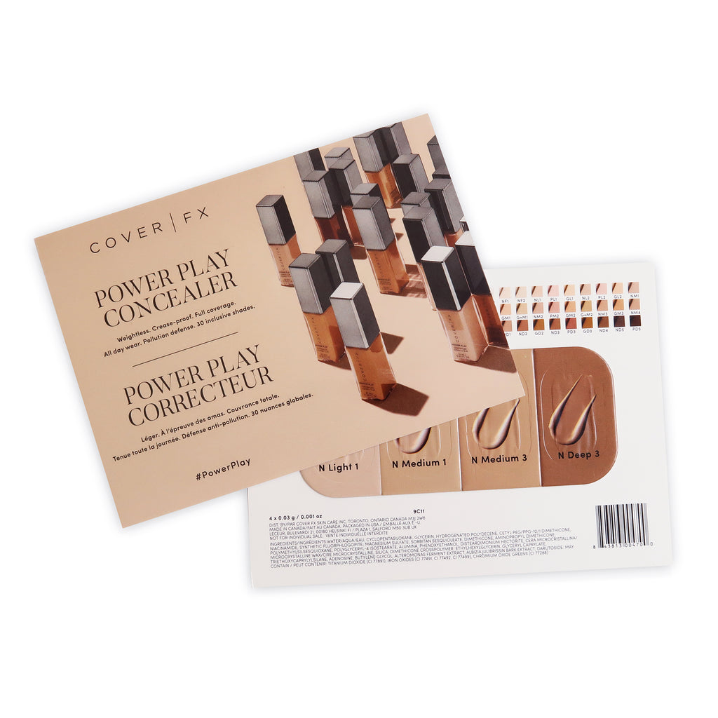 Power Play Concealer Sample Pack