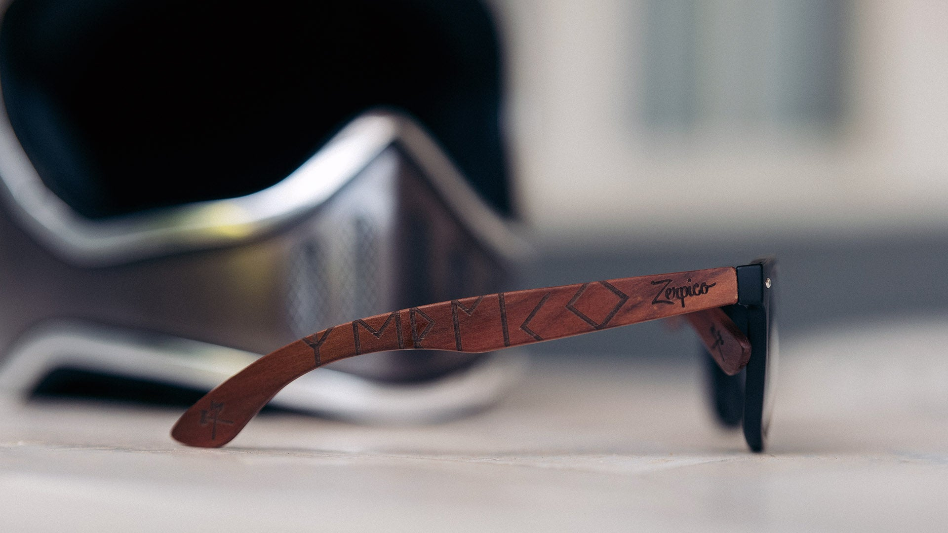 New models in our engraved series Eyewood.