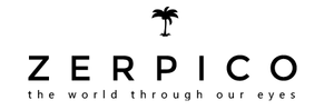 Zerpico sunglasses main logo.