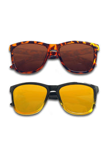MOOD Wayfarer - Duo Pack - Two sunglasses at a great price.