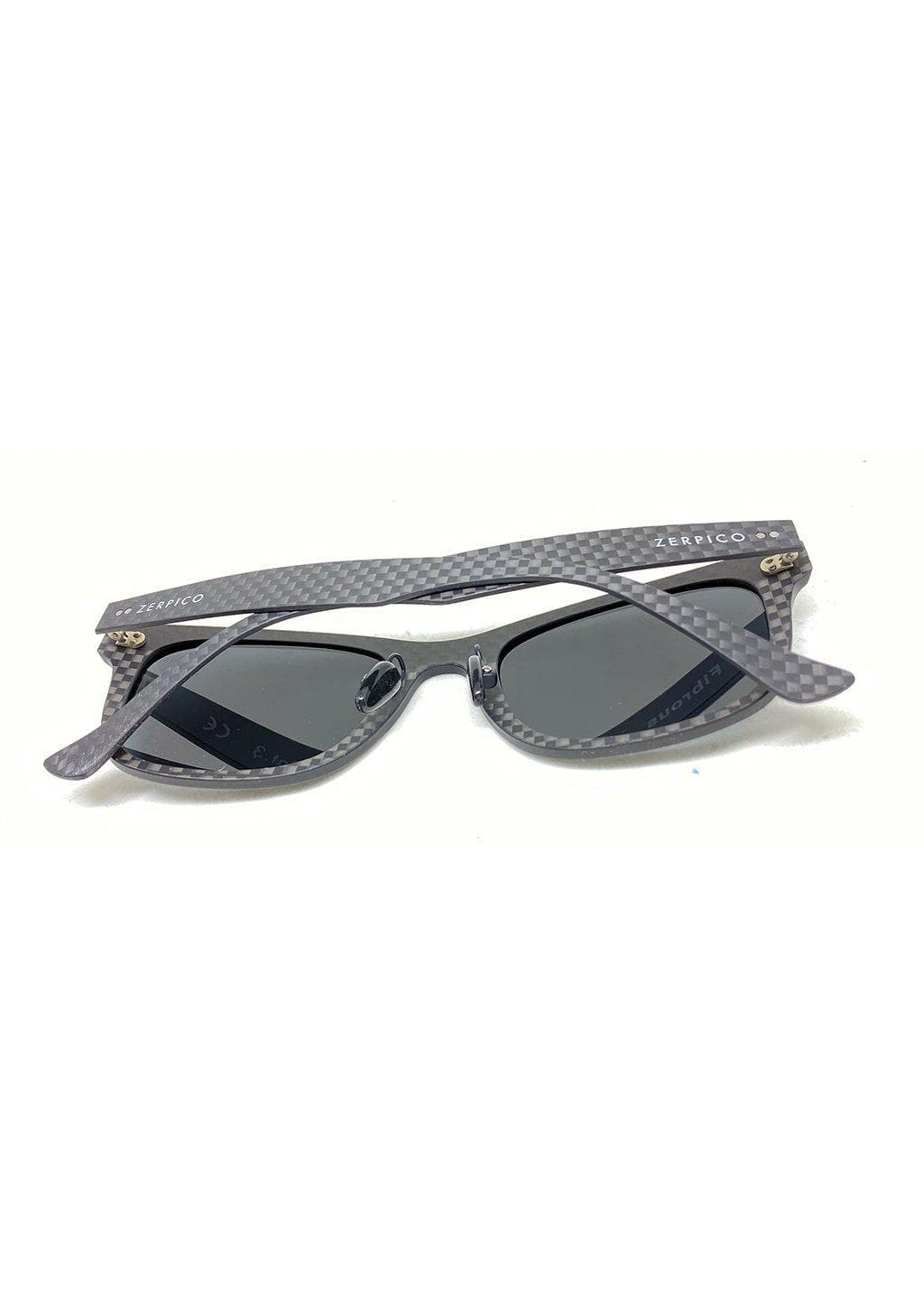 Our carbon fiber sunglasses with details taken in studio.