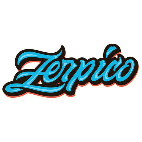 Zerpico Sticker - Blue