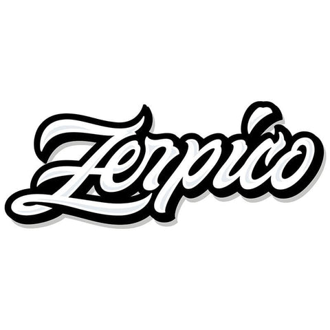 Zerpico Sticker - White