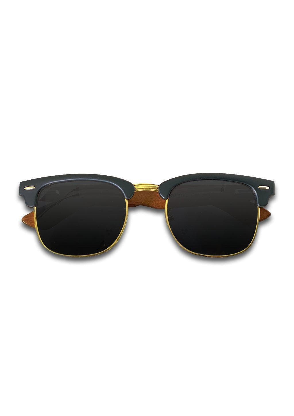 Eyewood Clubmaster - Adrian - Classic wood mixed with plastic to make these stylish clubmasters.