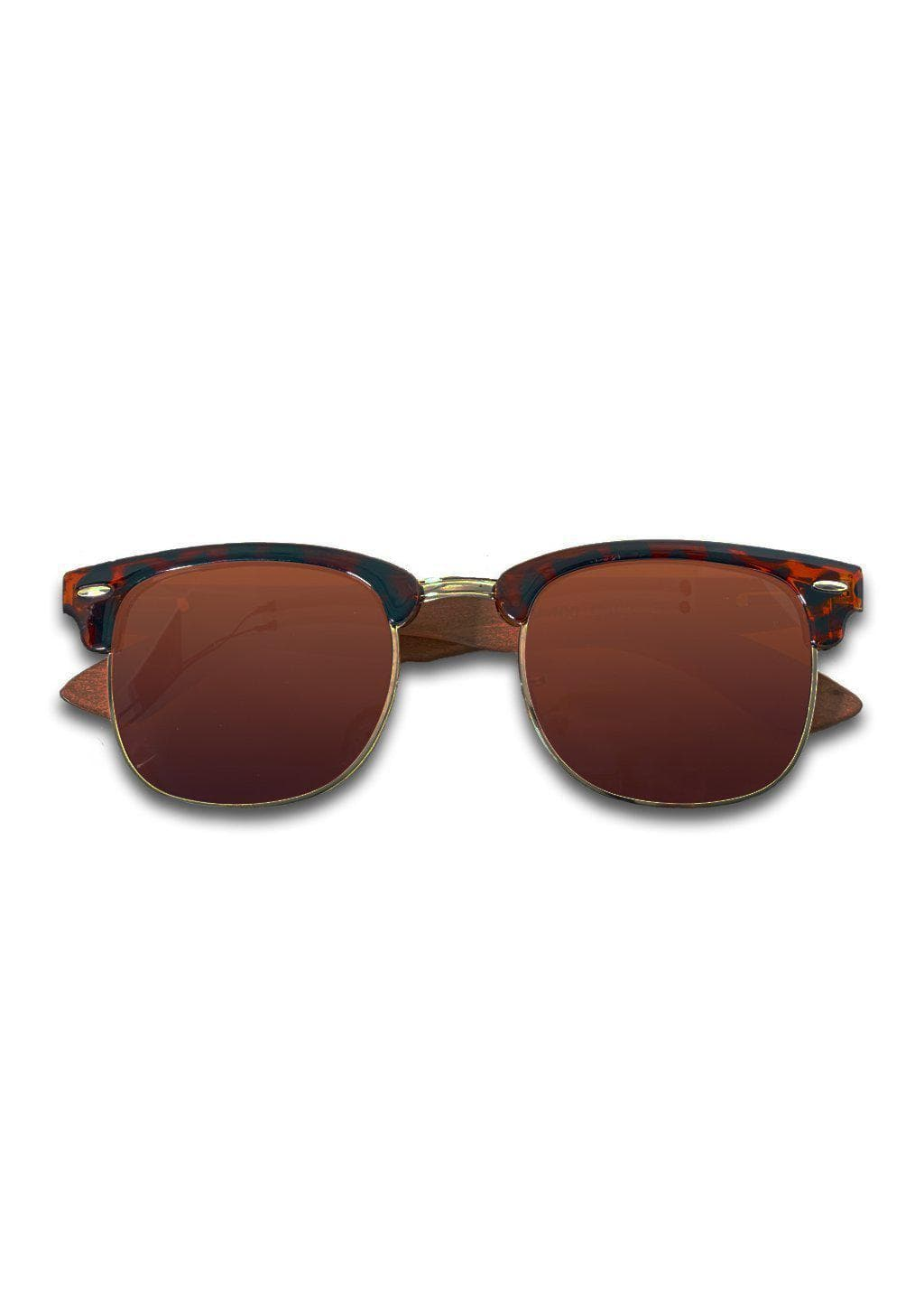 Eyewood Clubmaster - Cassidy - Our classic wooden sunglasses with style from the 1970s.