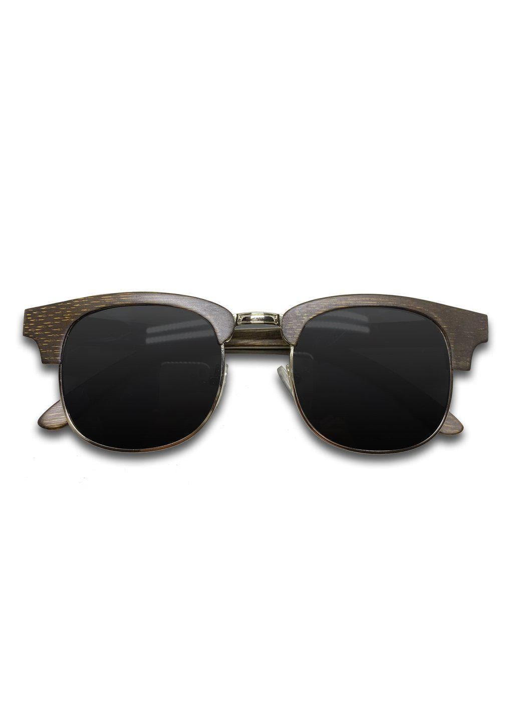Eyewood Clubmasters is our cool take on classic model. This is Skyler with dark lenses. And also this model is made in all wood.