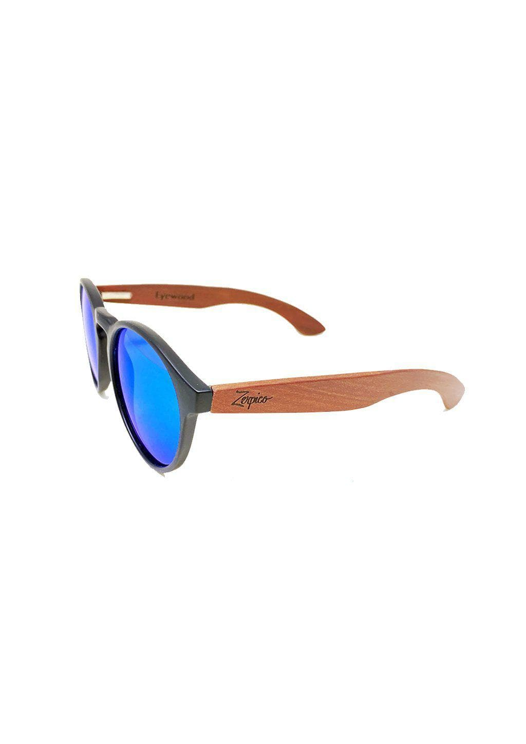 Eyewood Cubs - Lilo - Wooden sunglasses for kids and toddlers. Showing the front.