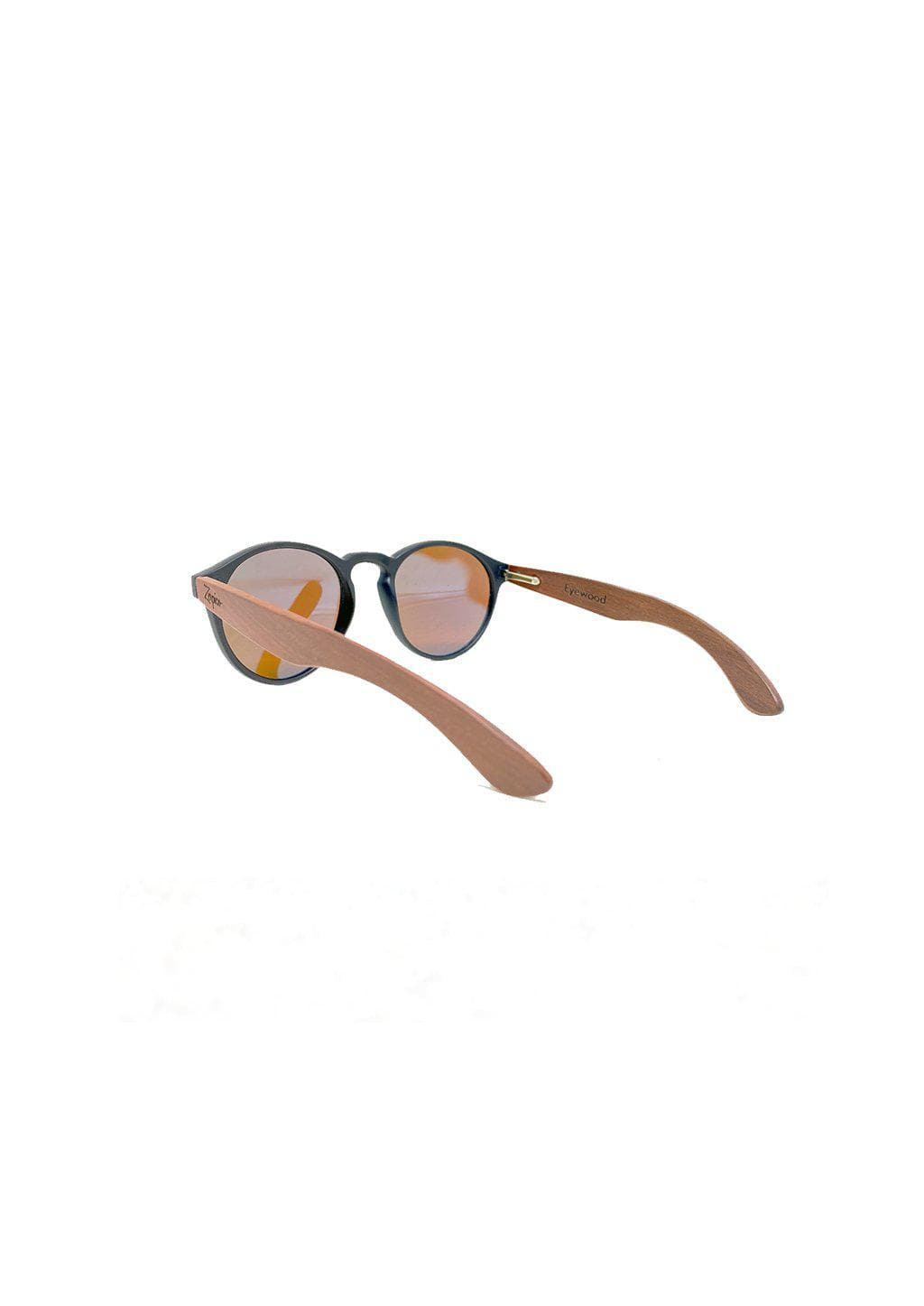 Eyewood Cubs - Lilo - Wooden sunglasses for kids and toddlers. From the back.