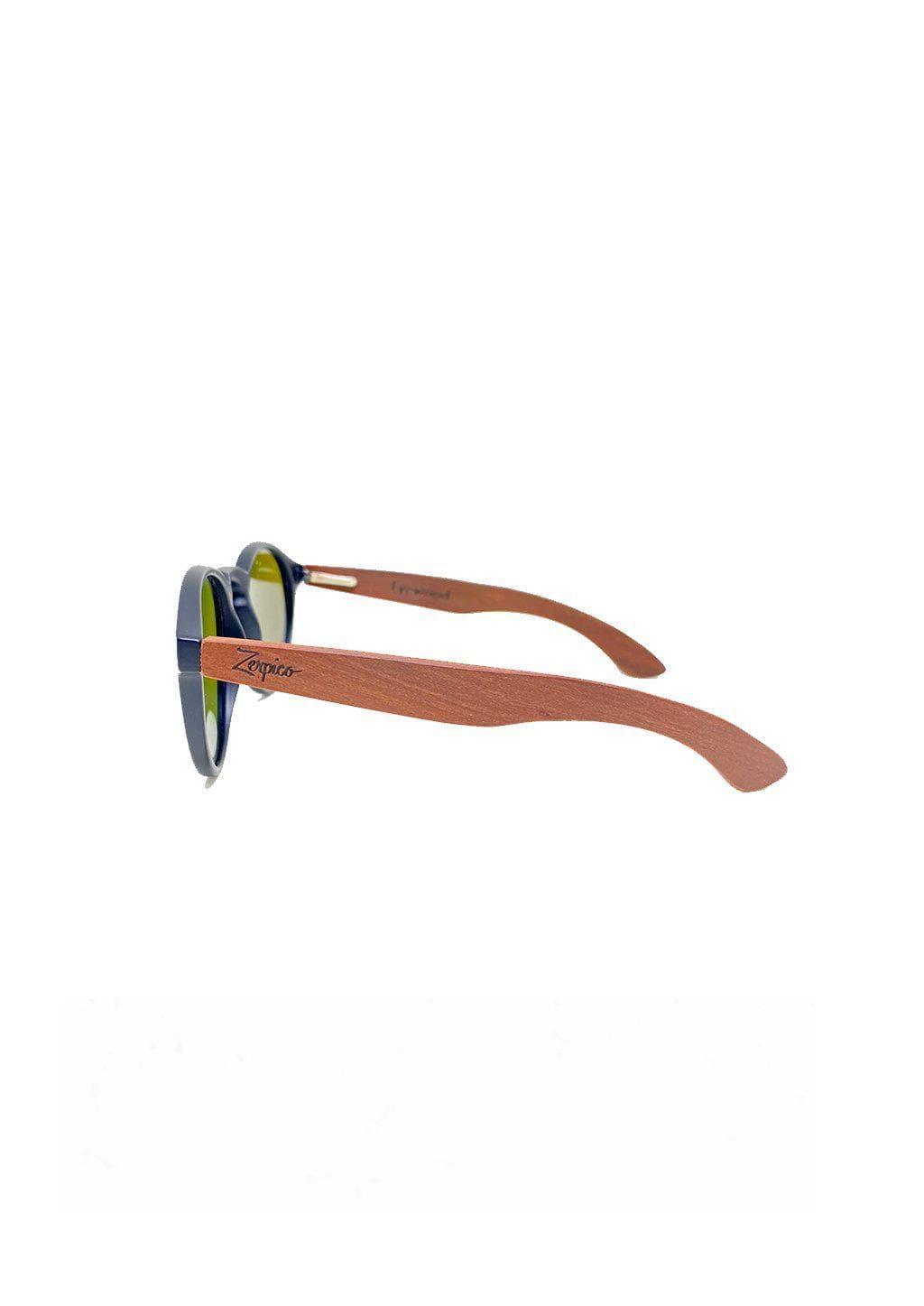 Eyewood Cubs - Lilo - Wooden sunglasses for kids and toddlers. From the side.