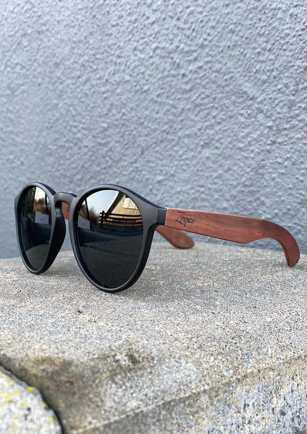 Eyewood Cubs - Simba - Wooden sunglasses for kids.