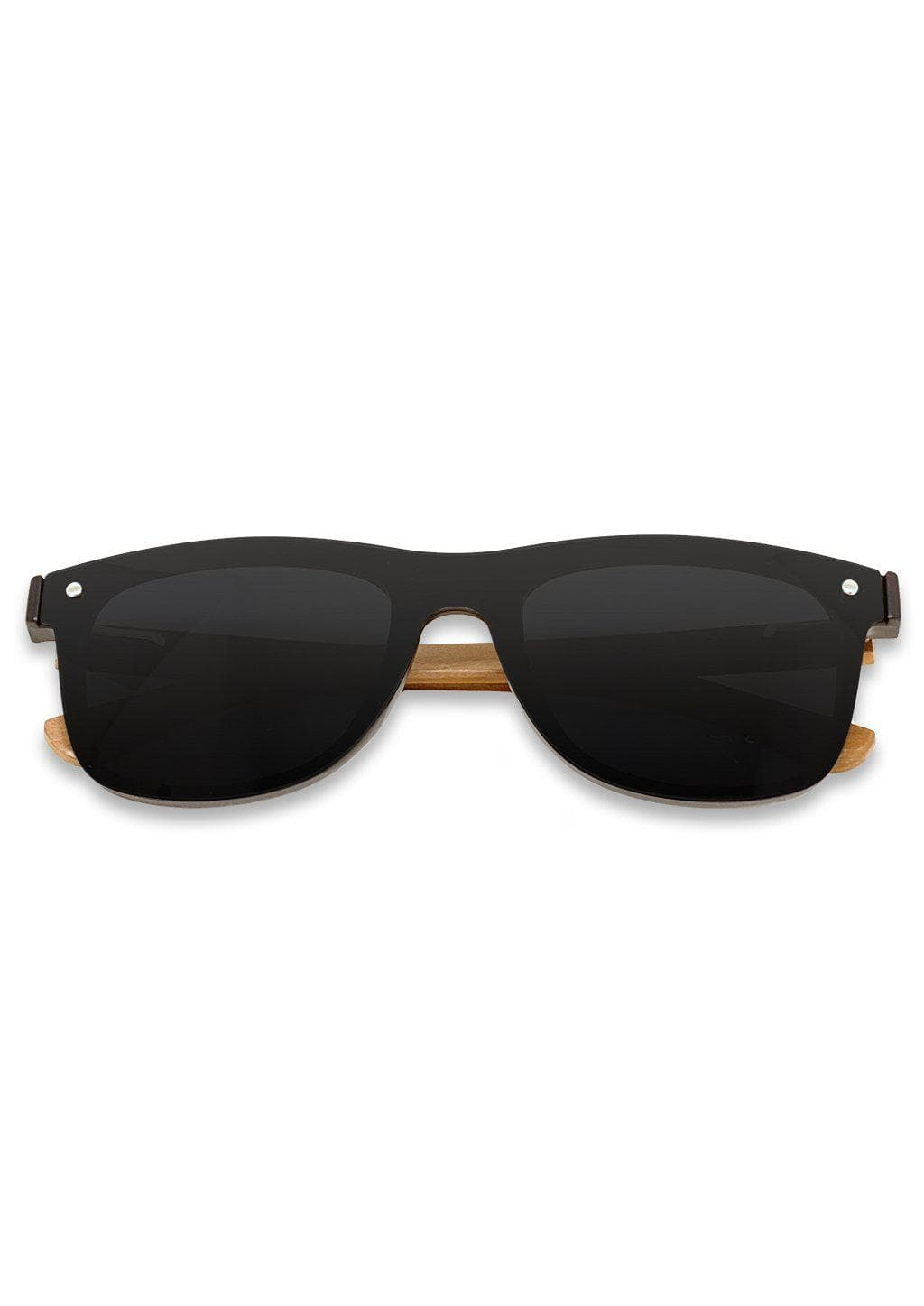 Eyewood tomorrow is our modern cool take on classic models. This is Taurus with black lenses. Nice wooden sunglasses.