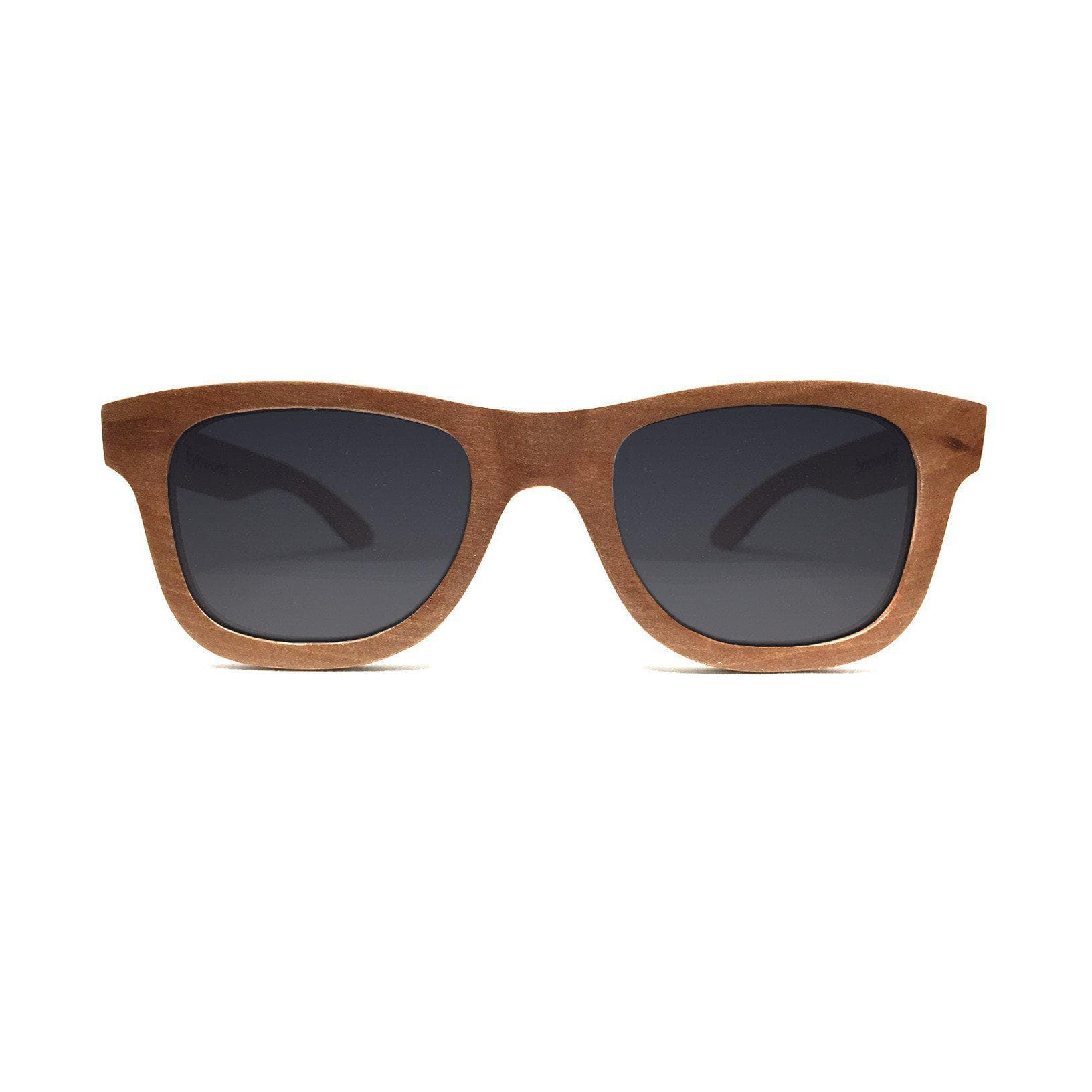 Eyewood Wayfarer - Wade - All wooden sunglasses front