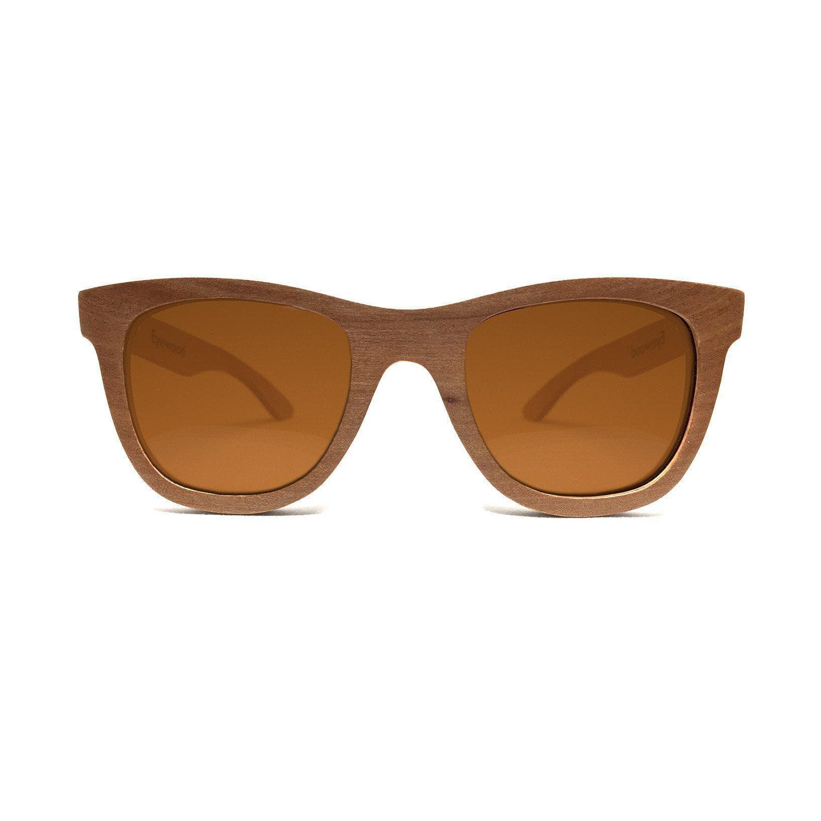 Eyewood Wayfarer - Waki - All wooden sunglasses front