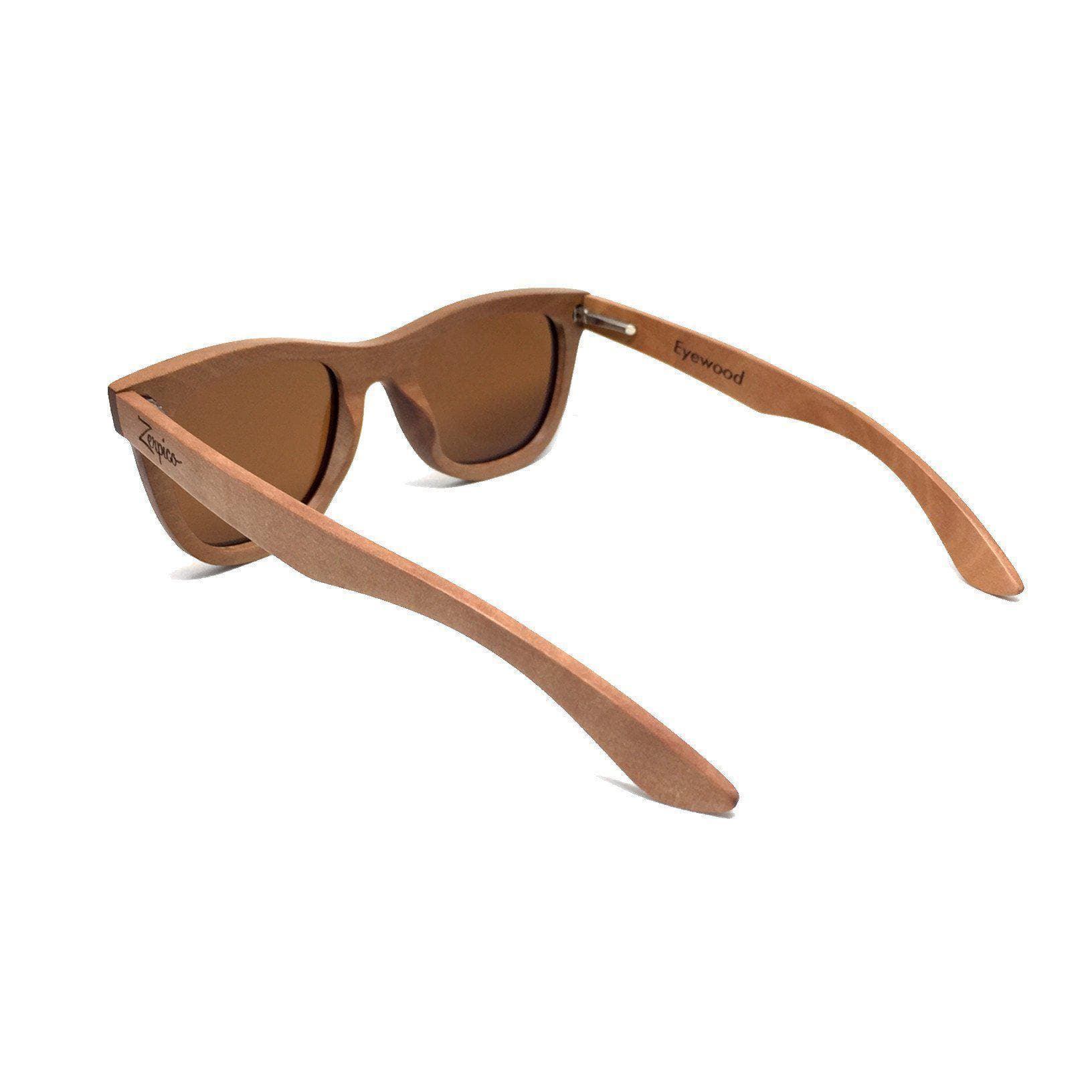 Eyewood Wayfarer - Waki - All wooden sunglasses side