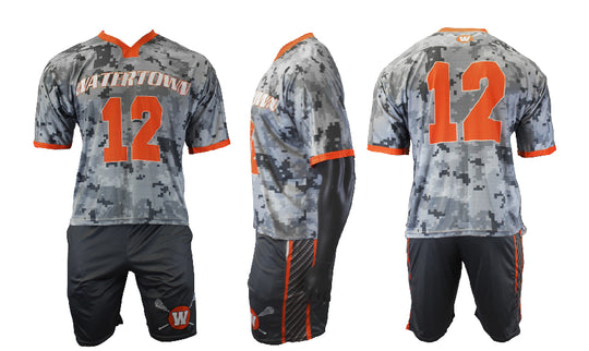 Eye of the Tiger-Short Sleeve Game Jersey and Short Uniform Set