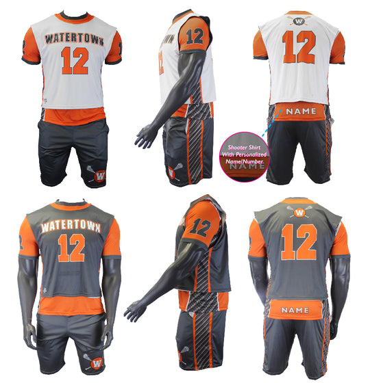 Thunderstruck-3 piece uniform set