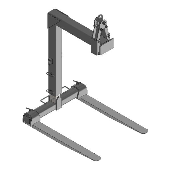 Manual adjustable pallet fork- FPM