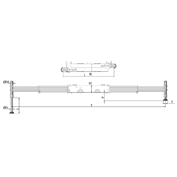 Parellel Double Extension Outrigger- TPE