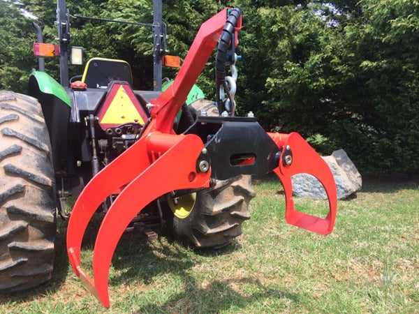 Log Grapple and Three Point Hitch for Tractors