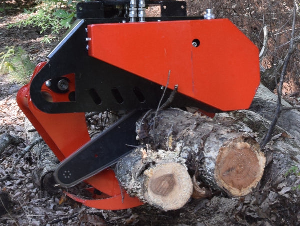 MS 400 Hydraulic Chain Saw.  Optional 2 or 3 Circuit Packages