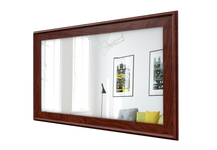 Hand-Crafted Classic Wood TV Frame