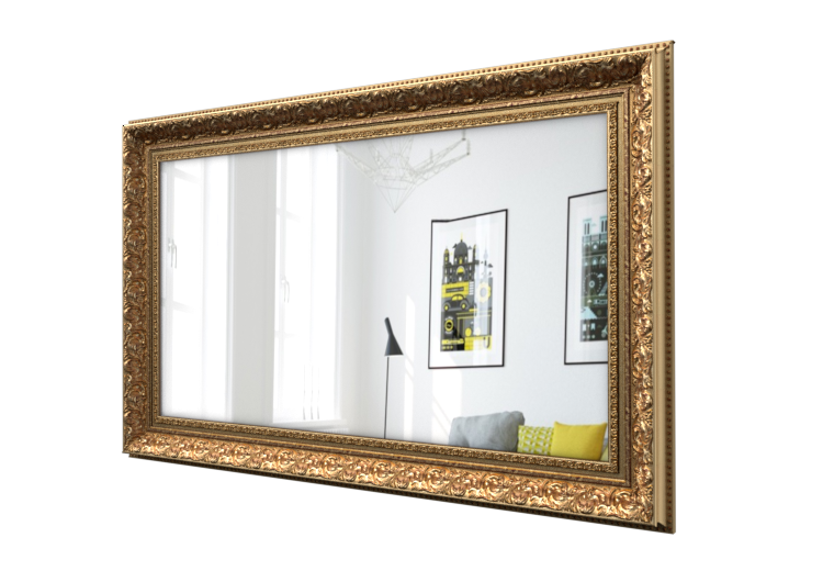 Hand Crafted Classic Wood Tv Frame